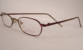 Jill Stuart 105 Burgundy 2 Women Eyeglasses Frame Eyewear New Designer - $29.69