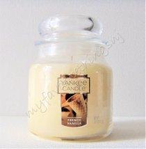 Yankee Candle Medium Jar Candle French Vanilla 14.5 oz - $25.00