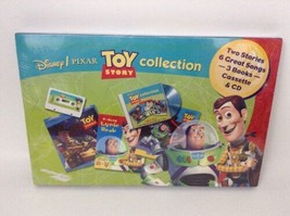 Toy Story Collection Song & Stories 3 Books 1 CD 1 Cassette Sealed Disney  - $19.75