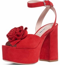 Miu Miu Flower Platform Sandals Size 39 MSRP: $950.00 - $569.25