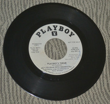 RARE PLAYBOY label promo 45 record Cy Coleman Playboy's Theme Hugh Hefne... - $39.98