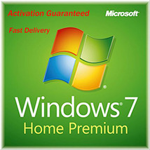 Windows 7 Home Premium Product Key with Download Both 32 and 64 Bit - $8.80