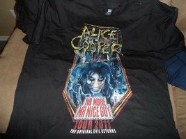 Alice Cooper - 2011 Distressed No More Mr. Nice Guy T-Shirt ~Never Worn~ 2XL - $16.83
