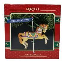 1993 Enesco Christmas Dancer Carousel Horse Christmas Ornament - $25.00