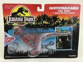 "Pachycephalosaurus Ram Jurassic Park 8"" Dinosaur Figure Capture Gear Ken... - $51.63"