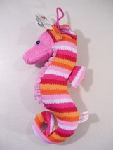 "NEW GUND BUBBLY THE SEAHORSE 8"" PLUSH, PINK SEA CREATURE TOY - $9.26"