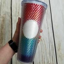 Starbucks Studded Rainbow Pride Tumbler Cup Rare HTF - $49.50