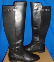 UGG Australia Women's DANAE Black Tall Leather Boots Size US 7.5 NIB #1008683 - $124.89