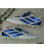 Adidas Men's Freak Carbon Low Football Shoe 17 18  White Blue NEW in Box - $40.80