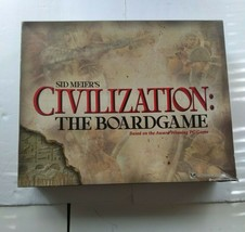 Sid Meier's Civilization The Board Game Incomplete - $23.75