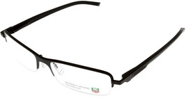 Tag Heuer Eyeglasses Frame Unisex Chocolate Automatic Half Rimless TH082... - $216.81
