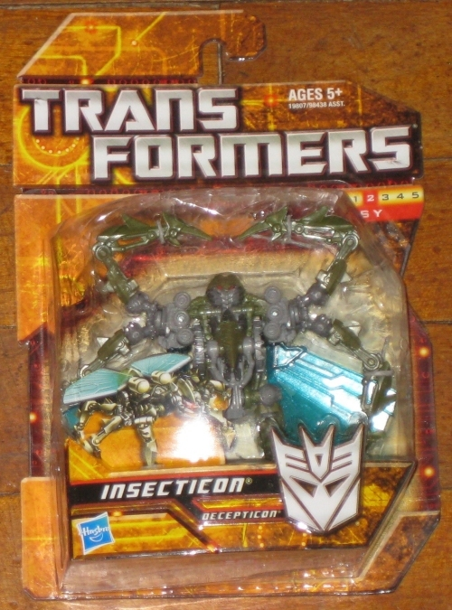 * Transformers Insecticon MOC