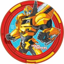 Transformers Prime Dessert Plates 8 Per Package Birthday Party Supplies ... - $4.11