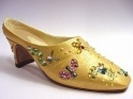 Summer Buzz YELLOW Artist Edition Jeweled Dragonfly/Butterly Just the Ri... - $29.99