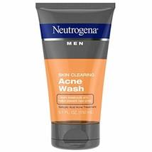Neutrogena Men Skin Clearing Daily Acne Face Wash with Salicylic Acid Acne - $31.74