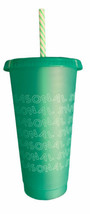 Starbucks - SEASONAL SHINE Single Cold Cup With Straw 24 Oz - 2019 Holiday - $12.00