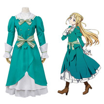 Shumatsu no Izetta: The Last Witch Fine Ortfine Cosplay Costume Green Dress Gown - $57.04+