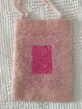 VINTAGE MANDALA BRAND SMALL PINK FULLY BEADED CHIC FLAPPER PURSE WRISTLE... - $11.36
