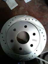 Power Stop AR8645XL Rotor Brake & Wheel Hub(jew) image 4