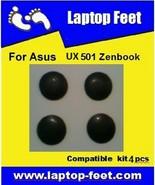 Laptop Feet for Asus UX501 ZENBOOK compatible kit (4 pcs self adhesive 3M) - $12.72
