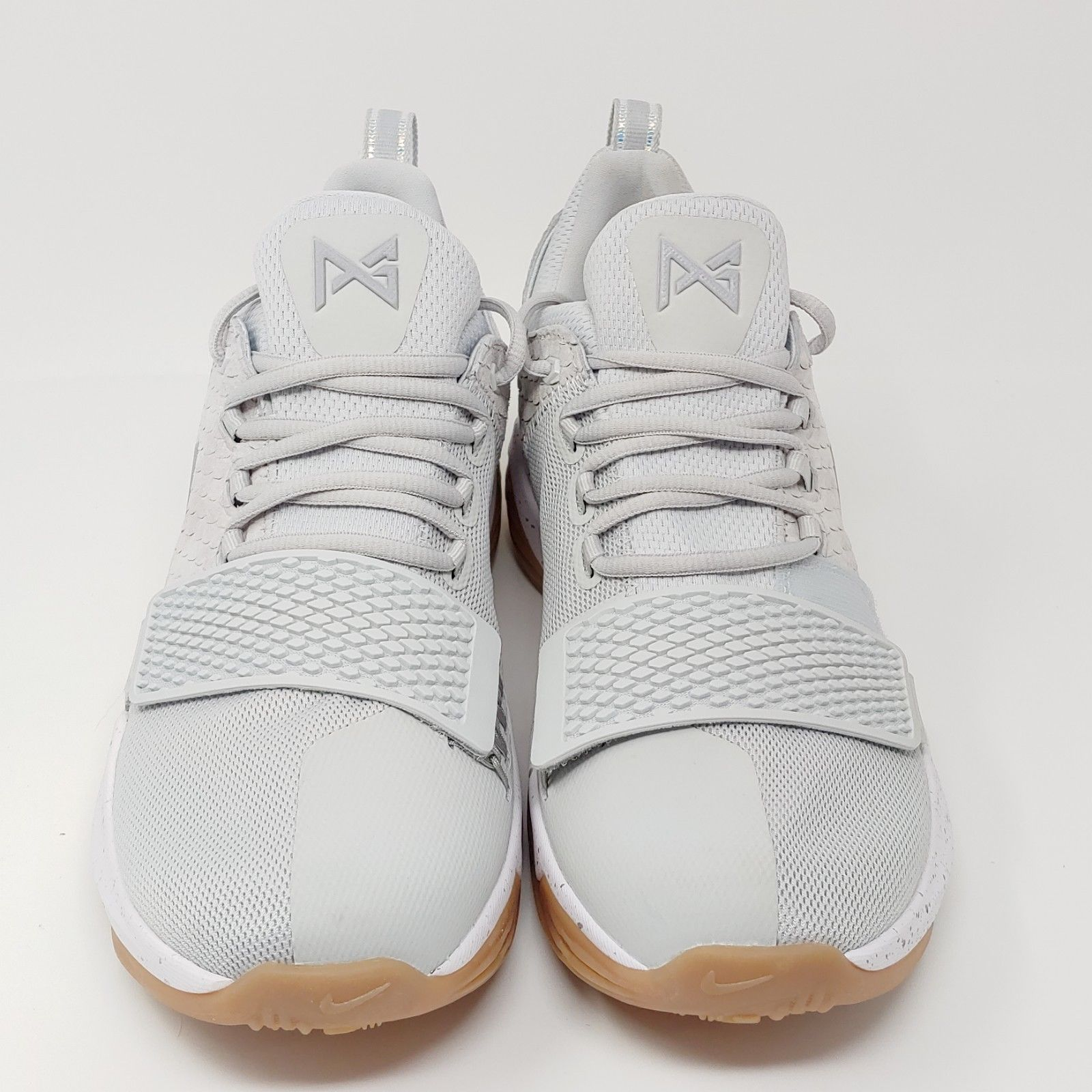 brand new 17202 5899f ... Nike Paul George PG1 Pure Platinum Wolf Grey Basketball Sneakers Mens  Size 9.5 ...