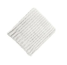 """Solid Chenille Throw Blanket Cream - Threshold 50"""" X 60"""" Chunky Knit Super Soft - $29.69"""