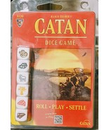 Klaus Teuber's Catan Dice Game New Sealed Package - $10.88