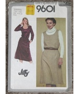Simplicity 9601 Misses Jiffy Pullover Dress Large 18-20
