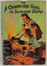 A Campfire Girl in Summer Camp by Jane L. Stewart 1914 HC/DJ - $7.99