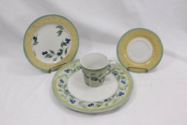 PTS Int Interiors Blueberry Place Setting of 4 pcs - $48.51