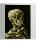 Smoked Out Skeleton Wall Decor on Canvas - $28.77+