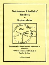 Watchmakers' & Machinists' Handbook - How to CD - Book - - $5.99
