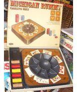 MICHIGAN RUMMY CASINO SET 1970 VINTAGE GAME - $24.00