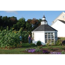 She Shed Woman Cave 12 Ft. W x 12 Ft. D Greenhouse with Floor Kit is Inc... - $13,982.32