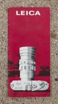 Vintage Leica Camera Lens Catalog 1965 g25 - $34.64