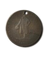 HM EI Richards Copper Hard Times Token HT#150 28.5mm Jewelry Attleboro M... - $17.81