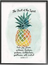 Stupell Home Décor The Fruit Of The Spirit Multicolored Pineapple Framed... - $58.11