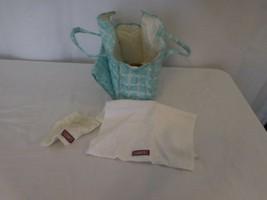 American Girl Doll Pleasant Company Bitty Baby Diaper Bag + Towel Washcloth - $17.84