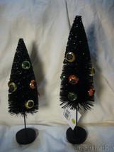 Bethany Lowe Eerie Eyeball Bottle Brush Trees Halloween image 1
