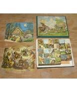 Toy Blocks Puzzle Vintage Toy 1900s - $38.99