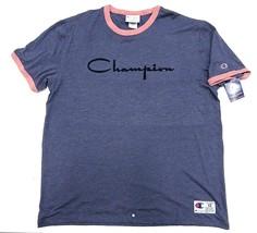 NWT Champion Multi-Colored Short Sleeve Logo T-Shirt Adult Men's Size XXL - $39.55