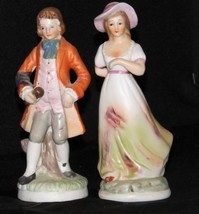 Vintage Man and WomanFigurines - $49.45