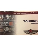 2003 harley davidson touring owners operators manual factory new - $59.22