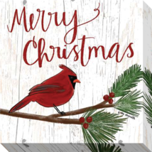 Christmas Cardinals Gallery Wrapped Canvas Artistic Reflections - $41.58