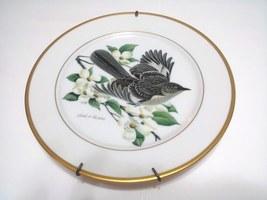 Ruthven Hutschenreuther 1973 Mockingbird Plate-11-y039 - $33.00