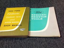 1962 Ford Galaxie Galaxie 500 & Station Wagons Service Shop Repair Manual Set - $55.43
