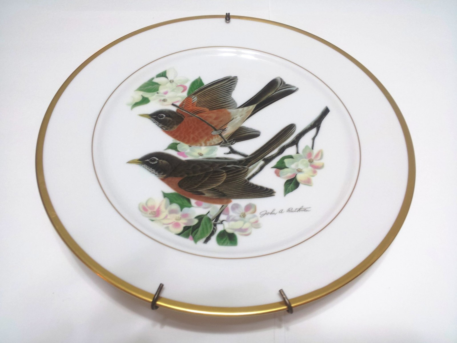 Ruthven Hutschenreuther Robin 1973  Limited Plate-11-y040 - $33.00