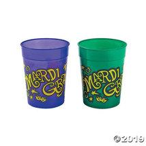 Mardi Gras Plastic Cups - $11.50