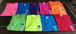 Lot 10 Gildan Dry Blend T-Shirt Solid Short Sleeve Adult Small & Med New  - $17.99