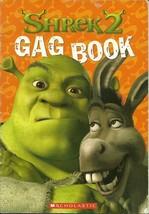 Shrek 2 Gag Book Sarah Fisch Howie Dewin Softcover Joke 2004 - $1.99